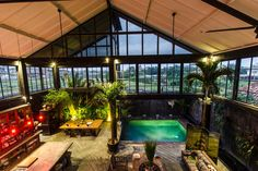 Check out this awesome listing on Airbnb: Luxury Warehouse Canggu Bali - Houses for Rent in Canggu Warehouse Living, Warehouse Design, Beautiful Buildings, Beautiful Homes, Piscina Interior, Bali House, Tropical Houses, Renting A House, Building Design