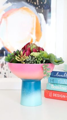20 Creative Succulent Container Gardens to DIY or Buy Now via Brit + Co