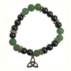 Now available on our store: Green Aventurine/.... Check it out here! http://crystalsnherbs.com/products/green-aventurine-hematite-with-triquetra?utm_campaign=social_autopilot&utm_source=pin&utm_medium=pin