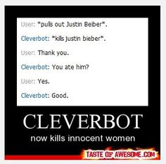 Oh Cleverbot...