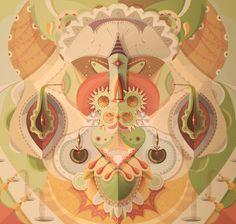 Digital Works by Francisco Miranda, via Behance