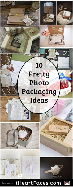 10 Pretty Photography Packaging Ideas