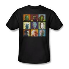 Trevco S Graphic Tees Solid Regular Size T-Shirts for Men Band Shirts, Tee Shirts, Star Trek Shirt, Star Trek Collectibles, Star Trek Original, Black Star, Graphic Tees, Geek Stuff, The Originals