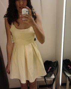 Yellow Zara Dress Zara Dresses, Nice Dresses, Summer Dresses, Yellow Animals, Holiday Wardrobe, Jacquard Dress, I Love Fashion, Sewing, My Style