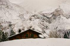 Cabins inMürren, Switzerland by Emily Sullivan