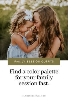 "The number one question I get is ""What do I wear to our family session?""Finding outfits for everyone can be overwhelming. My number one tip is to look to the color palette of your home as a starting point."
