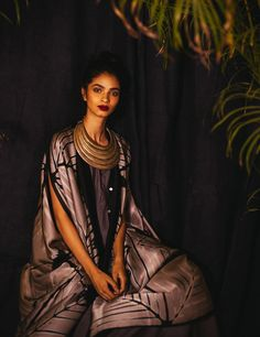 House of Wandering Silk | authentic, ethical & beautiful textiles | Lookbook Itajime Collection #itajime #shibori #tiedye #clampdye #dye #silk #handmade #fairtrade #artisanal #ethicalfashion #sustainablefashion #silksatin #silk #india #delhi #madeinindia #fashion #fashionshoot #photoshoot #editorial #photography #relaxedfit #loose #effortless #style #seasonless #sexy #kaftan #overlay #onesize #style #design #pattern #print #kimono #robe