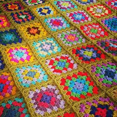 Check out this item in my Etsy shop https://www.etsy.com/uk/listing/455798504/striking-granny-squares-crochet-afghan