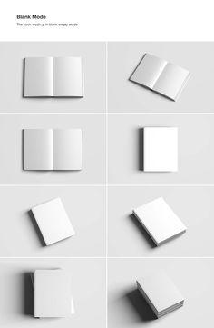 Free Book Mockup - Psd 08