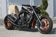 "No-Limit-Custom ""GTR"" V-Rod 
