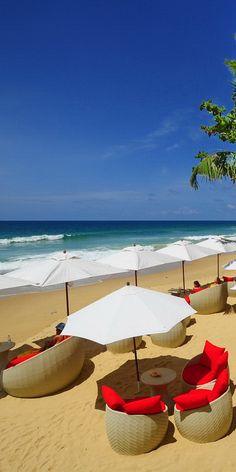 This is from the beach bar at Andaman White Beach Resort in Nai Thon Noi Beach in Phuket.