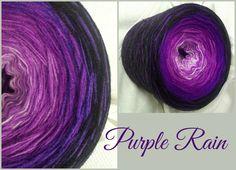 Purple Rain: Hochbauschacryl 5 Farben: lavendel flieder violett lila schwarz