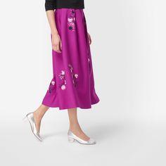 L.K. Bennett Delisa Full Skirt - House of Fraser