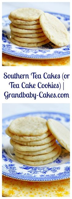 Easy and Classic Southern Tea Cakes Recipe | Grandbaby-Cakes.com: