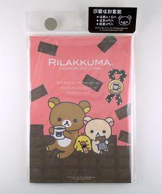 janetstore.com: kawaii stationery,letter sets, stickers, gifts and more - San-X Rilakkuma bear letter set 4718733168657