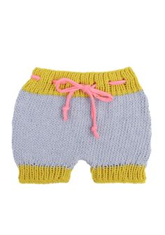 Adorable knit bloomers