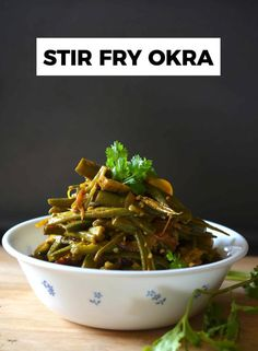 Okra helps in reducing cholesterol obesity and so many more benefits. Its super high in dietary fiber and is a one very rich vegetable. Stir Fry Okra, Bland Diet, Reduce Cholesterol, Side Recipes, Healthy Cooking, Green Beans, Fries, Tasty, Vegetable Sides