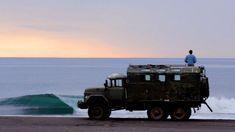 Trip surf au Kamchatka #surf #van