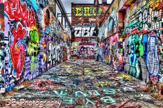 Surreal Graffiti Alley Street Art Rap