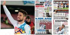 """Italiaanse pers vergelijkt Mertens met Maradona: """"Als een verwoestende cycloon"""" - HLN.be"""