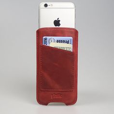 iPhone 6 / 6S Antic Vintage Red Leather Case Ultra von AnticLeather