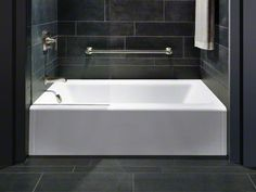 """Kohler Bellwether 60 x 32"""" alcove bath with apron and left-handed (need right) drain $925.40"""