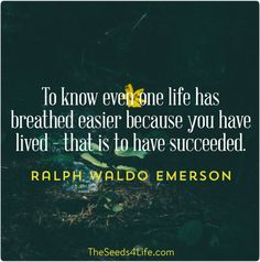 #life #quotes #emerson