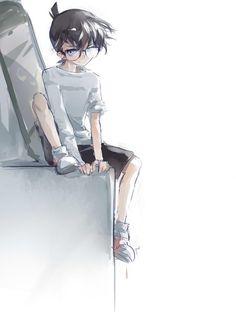 Watch anime online in English. Ran And Shinichi, Kudo Shinichi, Magic Kaito, Detective Conan Gin, Detective Conan Shinichi, Anime Manga, Anime Guys, Fantasy Characters, Anime Characters