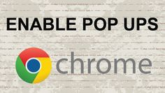 How to enable pop ups on Chrome #video #tutorial #youtube #chrome #tip #webbrowser #news #chromeOS  #popups #howto