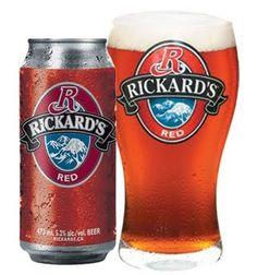 Rickards Red - The Beer Store Billard Bar, Beer Offers, Canadian Beer, Vodka, Beer Store, More Beer, Beers Of The World, Beer Company, Beer Brands