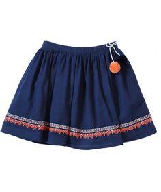 Skirt Athenais navy