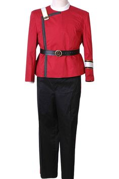 Halloween Costume Star Trek Wrath of Khan starfleet Kirk Spock Uniform #Handmade…