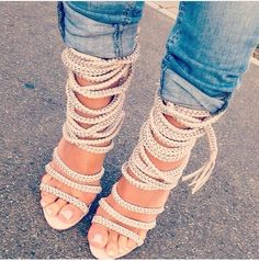 Rope shoes