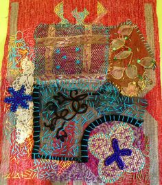 ♒ Enchanting Embroidery ♒ embroidered art by Marina Godoy