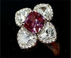 Once Owned by Wallis Simpson, Duchess of Windsor; diamonds and ruby.
