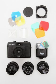 Holga 35mm Deluxe Kit. And it's on clearance for $99.99 @ Urban Outfitters. WANT.