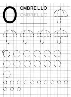 Tracing Worksheets, Alphabet Worksheets, Preschool Worksheets, Preschool Activities, Graph Paper Art, Simple Math, Pre School, Homeschooling, Art For Kids