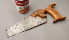 Rare! 8 inch 11 point Crosscut DISSTON/JACKSON NO. 00 Hand Saw circa 1887-1940