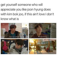 Kim Bok Joo Joon-Best boyfriend ever Weightlifting Kim Bok Joo, Weightlifting Fairy Kim Bok Joo Quotes, Weighlifting Fairy Kim Bok Joo, K Pop, Joon Hyung, Kim Book, Korean Drama Quotes, Drama Funny, Lee Sung Kyung