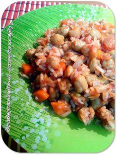 Η απόλαυση της βρώσης ~ Ας μαγειρέψουμε Grains, Rice, Vegetables, Food, Essen, Vegetable Recipes, Meals, Seeds, Yemek