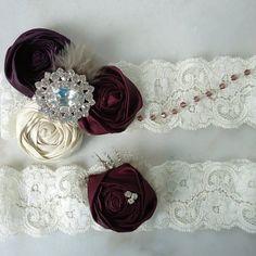 Vintage Couture Inspired Swarovski Crystal Garter Set  Emily Riggs Bridal  www.emilyriggsbridal.com