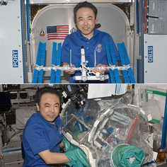 Astronaut Builds a LEGO International Space Station . . . In Space.  This is SO AWESOME!!