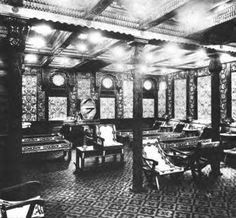 First class Turkish baths on Titanic.