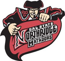 Cal State Northridge Matadors athletic logo