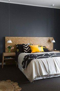 Renueva el dormitorio con estas simples ideas dormitorio-color-texturas/ #Decoracion #dormitorio #HomeDecor #bedroom #Color