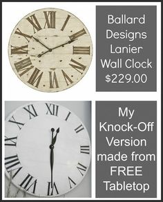 Knock off popular decor pieces and save $$.