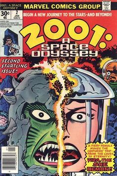 2001 A Space Odyssey 2 Marvel Comics For Sale Jack Kirby Dc Comics, Jack Kirby Art, Comic Books For Sale, 2001 A Space Odyssey, Classic Comics, Comic Book Covers, Bronze Age, Sci Fi Art, Marvel Characters