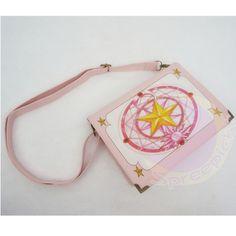 Cardcaptor sakura the clow card printing cross bag shoulder bag free ship sp141332
