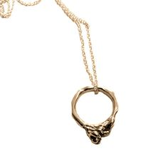 This necklace is handcrafted in sterling silver with 18ct gold plate. Also available in sterling silver. On a 45cm sterling silver chain with 18ct gold plate. Each piece is made to order, so please allow 2-3 weeks for production.