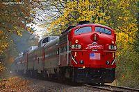 The Spirit Of Washington Dinner Train- near Woodinville bound for Renton, Washington